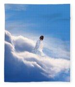 Resting Angel 2 Fleece Blanket