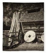 Retired Mill Stones Fleece Blanket