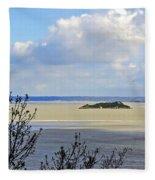 Retreating Tide Fleece Blanket