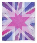 Retro Explosion 4 Fleece Blanket