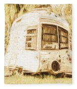 Retrod The Comic Caravan Fleece Blanket