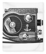 Revere 8 Movie Camera Fleece Blanket