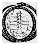 Revolution Masthead, 1775 Fleece Blanket