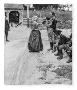 Revolution: Soldiers Fleece Blanket