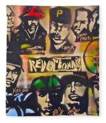 Revolutionary Hip Hop Fleece Blanket