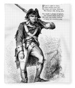 Revolutionary Soldier Fleece Blanket