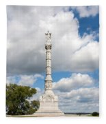 Revolutionary War Monument At Yorktown Fleece Blanket