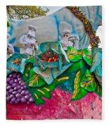Rex Mardi Gras Parade II Fleece Blanket