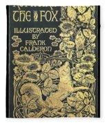 Reynard The Fox Fleece Blanket