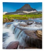 Reynolds Creek Falls Fleece Blanket