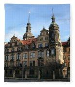 Rezidenzschloss - Dresden  -  Germany Fleece Blanket