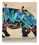 Rhino 2 Fleece Blanket