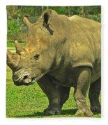 Rhino Look Fleece Blanket