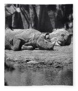 Rhino Nap Time Fleece Blanket