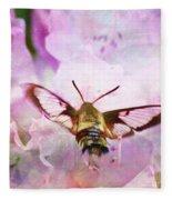 Rhododendron Dreams Fleece Blanket