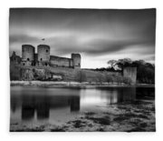 Rhuddlan Castle Fleece Blanket