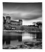 Rhuddlan Castle Fleece Blanket