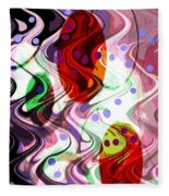 Rhythem Of Change II Fleece Blanket