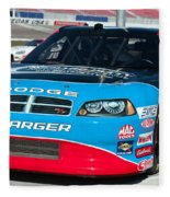 Richard Petty Driving School Nascar  Fleece Blanket
