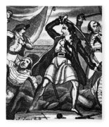 Richard Worley (c1686-1719) Fleece Blanket