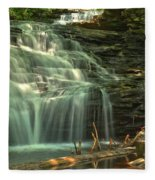 Ricketts Glen Shawnee Waterfall Fleece Blanket