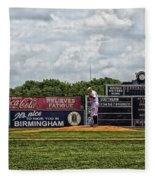 Rickwood Classic Baseball - Birmingham Alabama Fleece Blanket