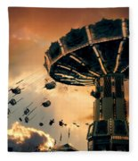 Ride The Clouds Fleece Blanket