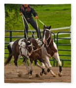 Ride Them Cowboy Fleece Blanket