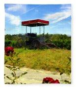 Rideau Vineyards Solvang California Fleece Blanket