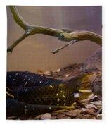 Ridgenosed Rattlesnake 3 Fleece Blanket