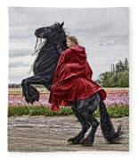 Riding High Fleece Blanket