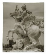 Riding Pegasis Fleece Blanket