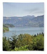 Riffe Lake Fleece Blanket