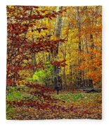 Right Place Right Time Fleece Blanket