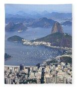 Rio De Janeiro 1 Fleece Blanket