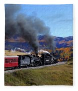 Rio Grande 488 And 489 Fleece Blanket