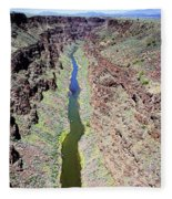 Rio Grande Gorge Fleece Blanket