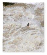 Rio Grande Kayaking Fleece Blanket