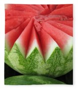 Ripe Watermelon Fleece Blanket