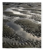Rippled Sand Fleece Blanket