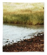 Rippled Water Rippled Reeds Fleece Blanket