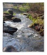 Rippleing Stream Fleece Blanket