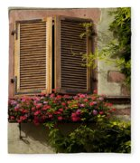 Riquewihr Window Fleece Blanket