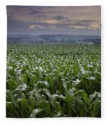 Rise To Meet The Day Fleece Blanket