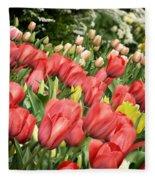 Rising Spring Fleece Blanket