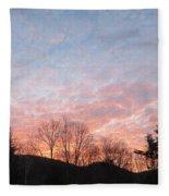 Rising Beauty Fleece Blanket