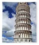 Rising Into The Tuscany Sky Fleece Blanket