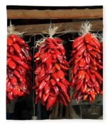 Ristras 1 Hatch New Mexico Fleece Blanket