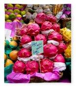 Ritaya Fruit - Mercade Municipal  Fleece Blanket