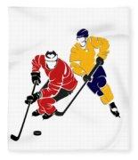 Rivalries Senators And Sabres Fleece Blanket